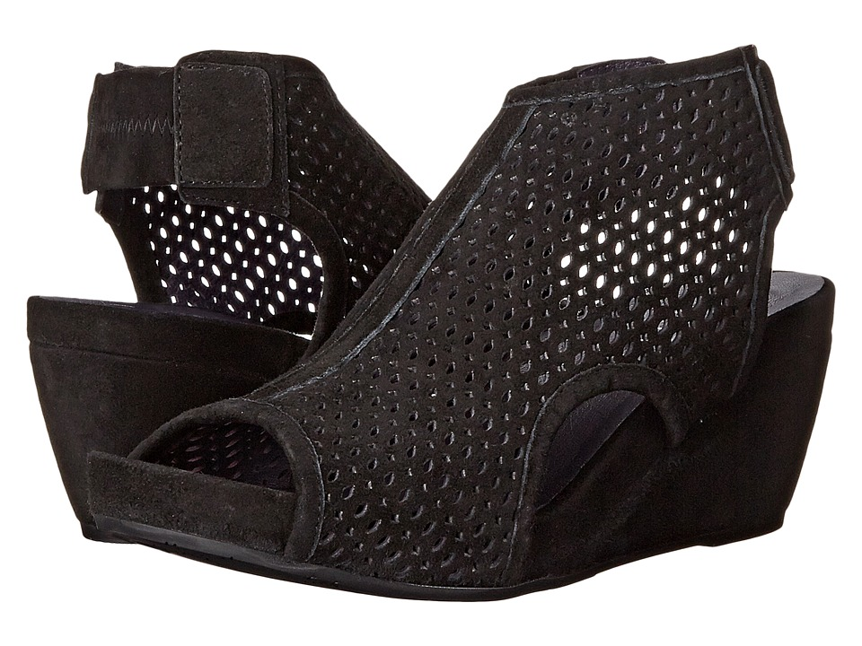 Vaneli - Inez (Black Suede) Womens Wedge Shoes