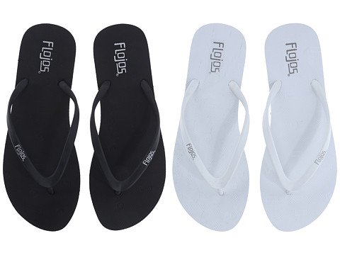 Flojos Kai 2-Pack - Black/White