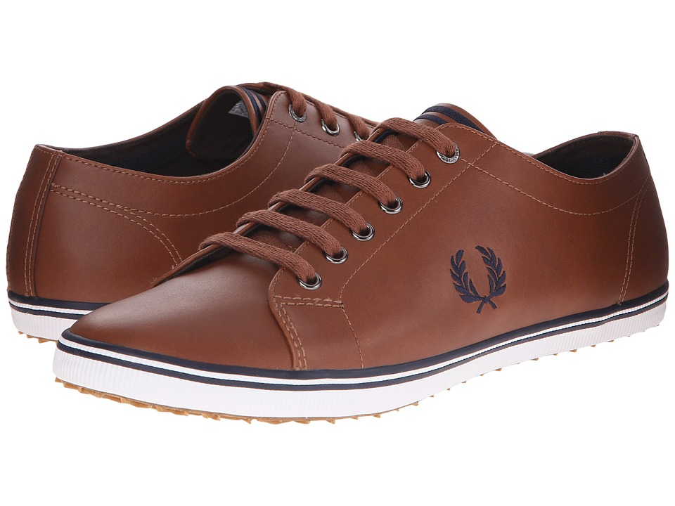 Fred Perry - Kingston Leather (Tan/Carbon Blue) Men