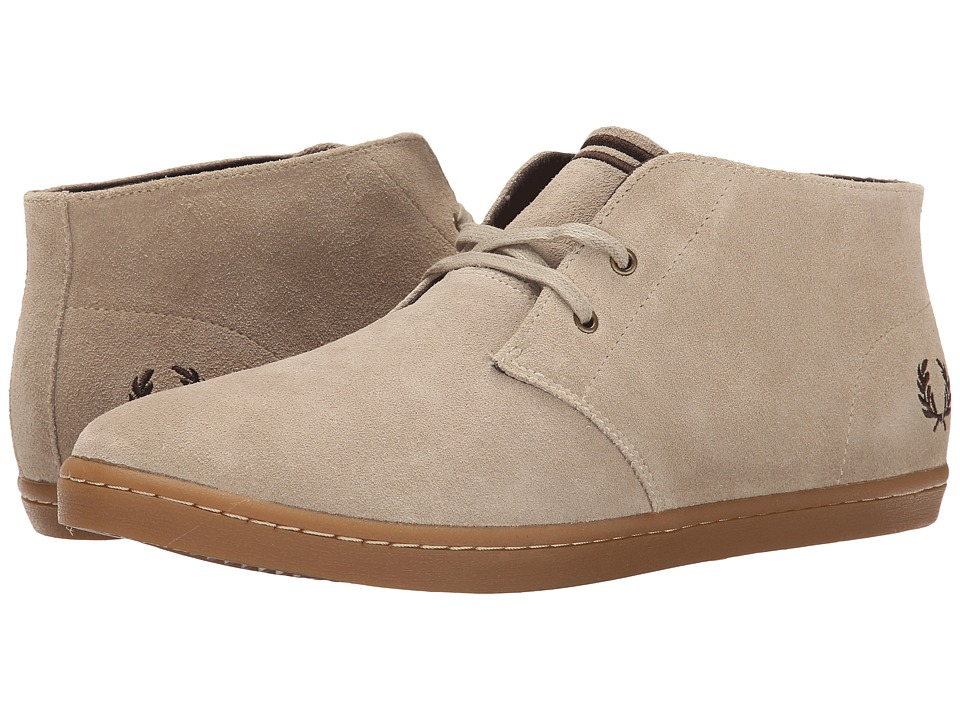 Fred Perry Byron Mid Suede (Sand/Dark Chocolate) Men