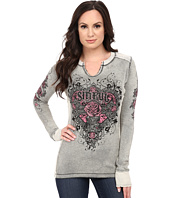 Affliction - Wild Heart Long Sleeve Reversible Thermal Tee