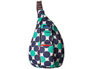 KAVU Rope Bag (Ocean Dot)