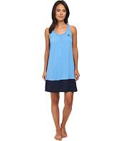 LAUREN by Ralph Lauren - Essentials Tank Gown with Color Blocking