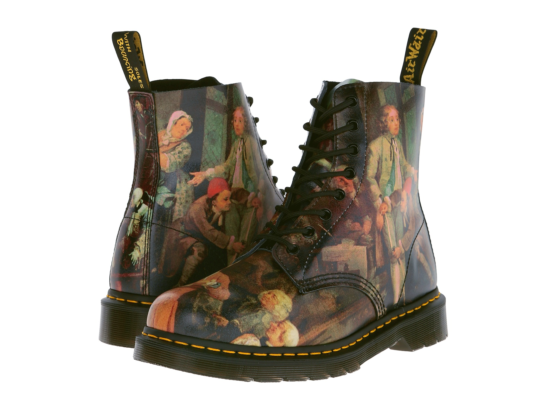 dr martens pascal 8 eye boot free shipping. Black Bedroom Furniture Sets. Home Design Ideas