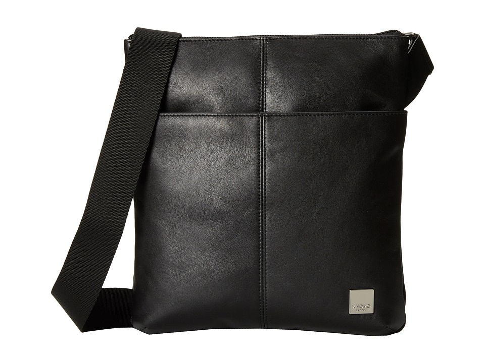 KNOMO London - Kyoto Crossbody Bag (Black) Cross Body Handbags