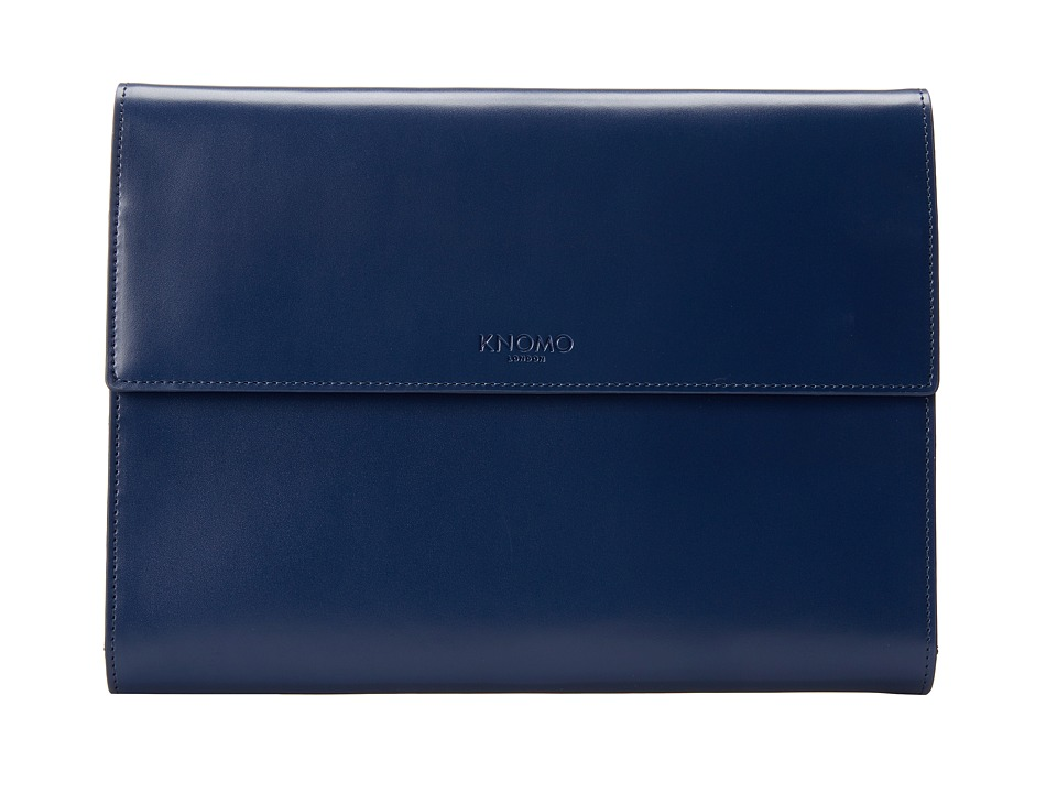 KNOMO London - SOHO Knomad Air 10 Portable Organizer (Air Force Blue) Wallet