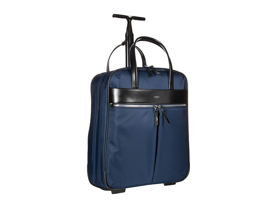 KNOMO London - Burlington N/S Laptop Trolley (Navy) Computer Bags