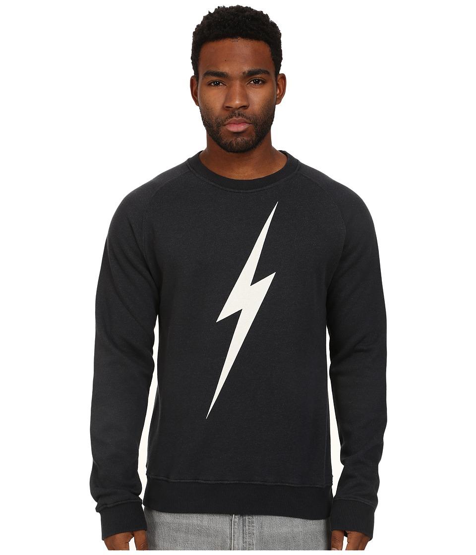 Lightning Bolt Forever Triblend Crew Moonless Night Mens Sweatshirt