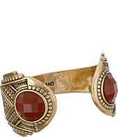 Lucky Brand - Gold and Red Gem Cuff Bracelet