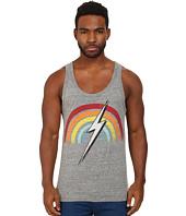 Lightning Bolt - Rainbow Triblend Pocket Tank Top