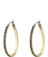 Lucky Brand - Etched Hoop Earrings