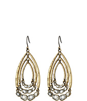 Lucky Brand - Two-Tone Multi Hoop Drop Earrings
