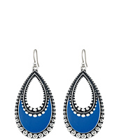 Lucky Brand - Navy Enamel Earrings