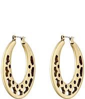 Lucky Brand - Open Work Gold Hoop Earrings
