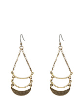 Lucky Brand - Half Moon Drop Earrings