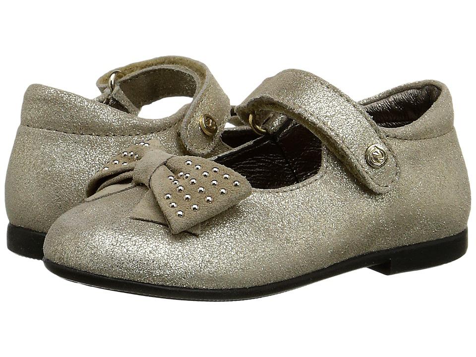 Naturino Nat. 3772 Toddler/Little Kid Gold Girls Shoes