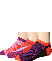 Nike Kids - Graphic Lightweight Cotton No Show 3-Pair Pack (Toddler/Little Kid/Big Kid)