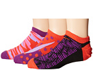 Nike Kids Graphic Lightweight Cotton No Show 3-Pair Pack