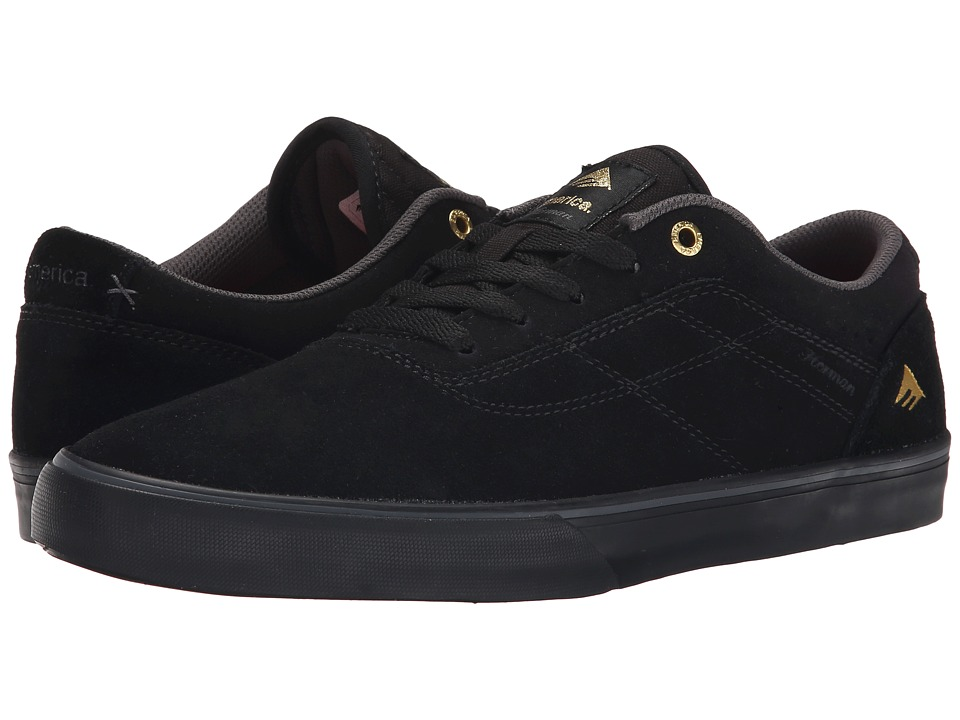 Emerica - The Herman G6 Vulc (Black/Black) Men
