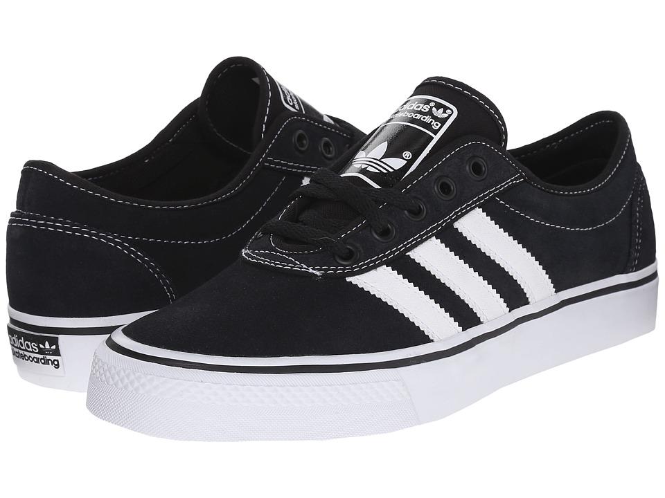 adidas Skateboarding Adi Ease Black/White/Black Mens Skate Shoes