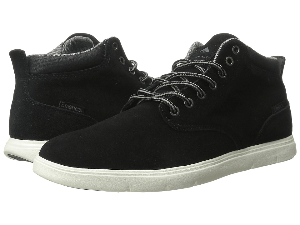 Emerica - Wino Hi LT (Black/White) Men