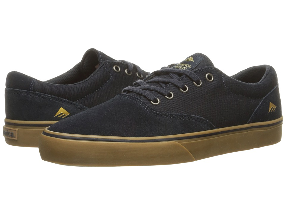 Emerica - The Provost Slim Vulc (Navy/Gum) Men