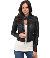 Affliction - Lethal Attack Leather Moto Jacket