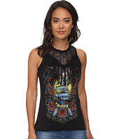 Affliction - Dead Mans Chest Tank Top w/ Fringe