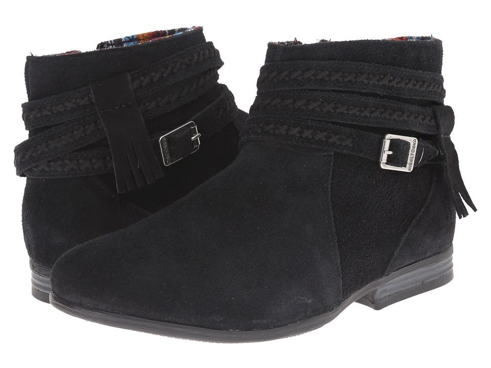 Minnetonka Dixon Boot (Black Suede)