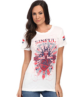 Affliction - Burning Heart Short Sleeve Tee