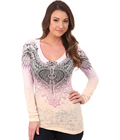 Affliction - Aviana Long Sleeve V-Neck Tee
