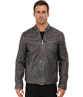 Affliction - Two Pistons Faux-Leather Moto Jacket