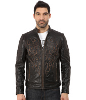 Affliction - Rebellious Leather Moto Jacket