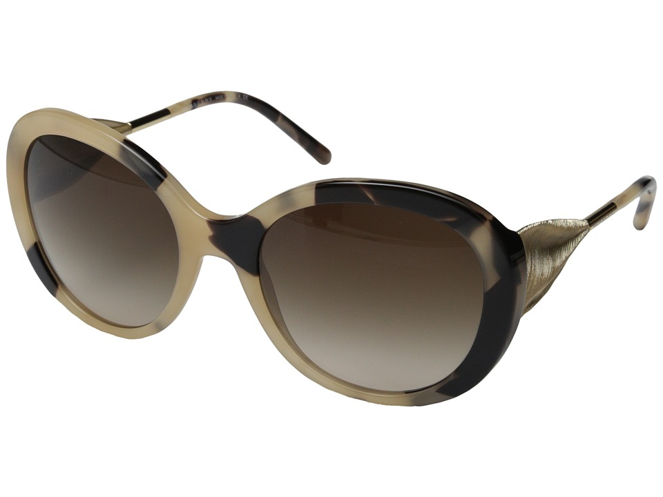 Burberry BE4191 Trench Horn/Gradient Brown Fashion Sunglasses
