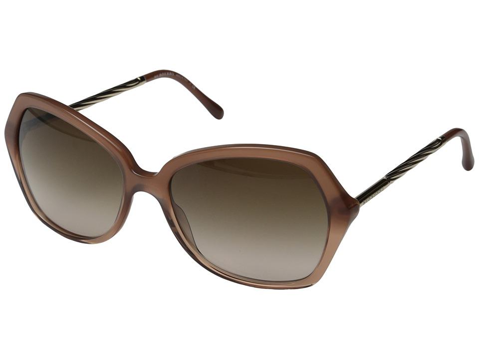 Burberry BE4193 Smokey Gradient Pink/Gradient Brown Fashion Sunglasses