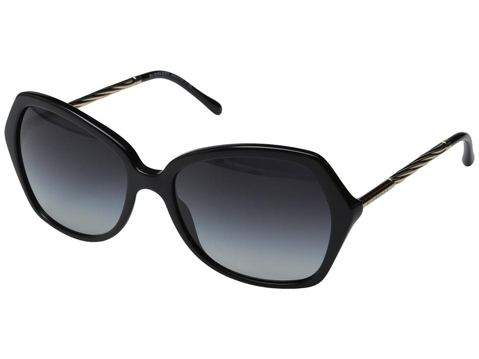 Burberry BE4193 Black/Gradient Grey Fashion Sunglasses