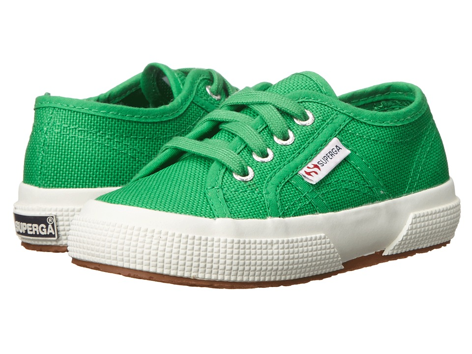 Superga Kids - 2750 JCOT Classic (Infant/Toddler/Little Kid/Big Kid) (Island Green) Kids Shoes