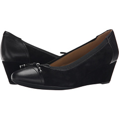 Image of Geox - WFLORALIE16 (Black) Women's Shoes