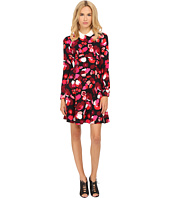 Kate Spade New York - Falling Florals Crepe Dress