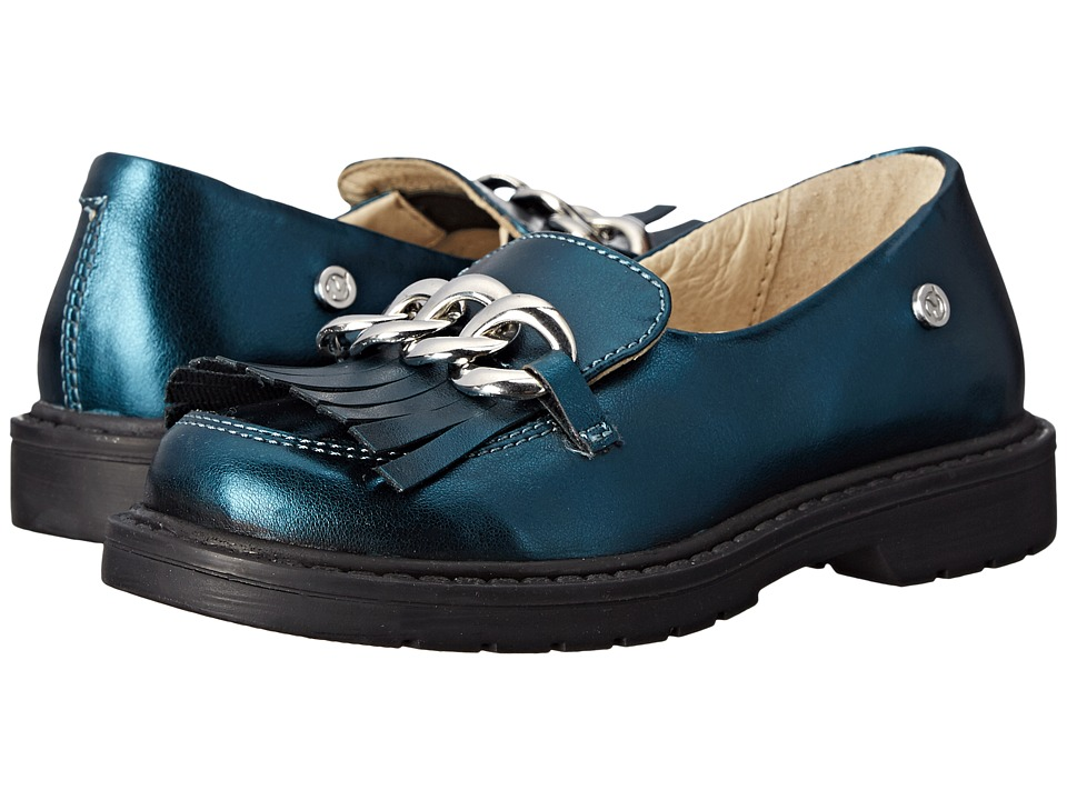 Naturino Nat. 3933 Toddler/Little Kid/Big Kid Teal Blue Girls Shoes