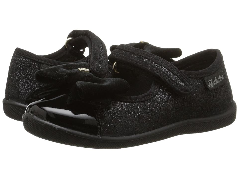 Naturino Nat. 8083 Toddler/Little Kid Black Girls Shoes