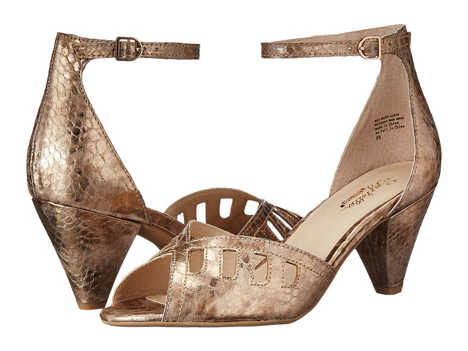 Seychelles - Astonish Rose Gold Womens 1-2 inch heel Shoes $100.00 AT vintagedancer.com