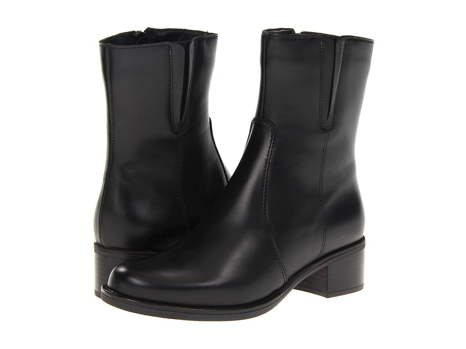 La Canadienne Perla (Black Leather) Women's Boots