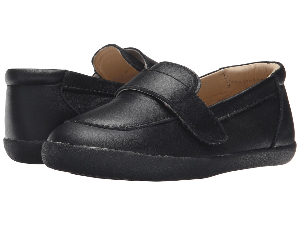 Old Soles Business Loafer Toddler/Little Kid Black Boys Shoes