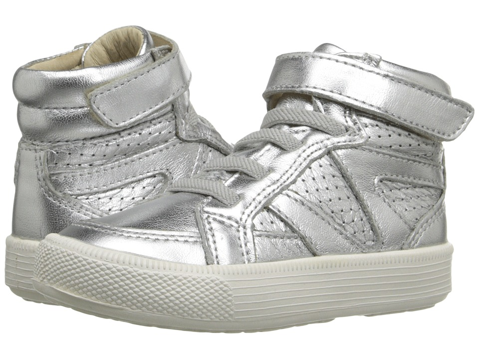 Old Soles Star Jumper Toddler/Little Kid Silver/White Sole Kids Shoes