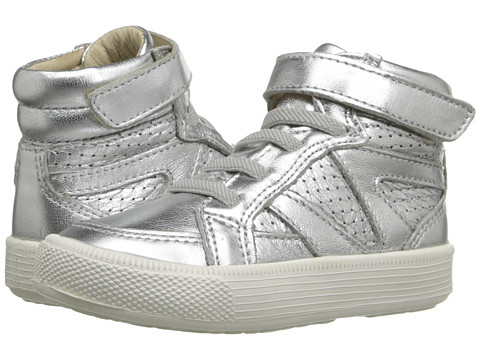Old Soles Star Jumper (Toddler/Little Kid) - Silver/White Sole