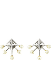 Rebecca Minkoff - Pyramid Fan Stud Earrings
