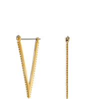 Rebecca Minkoff - Large V Hoop Earrings