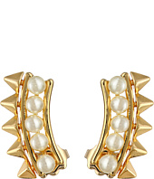 Rebecca Minkoff - Pearl Cuff Earrings