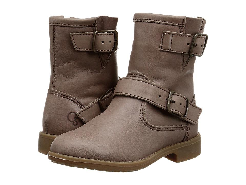 Old Soles Highlander Toddler/Little Kid Distressed Coffee Girls Shoes